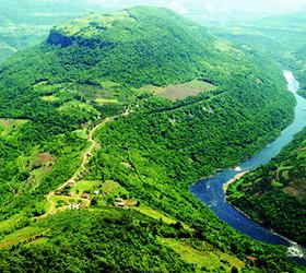 Vale do Rio das Antas - Serra Ga�cha - Site Guiabento